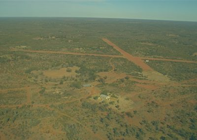 Airstrip at Kilcowera Station, Qld