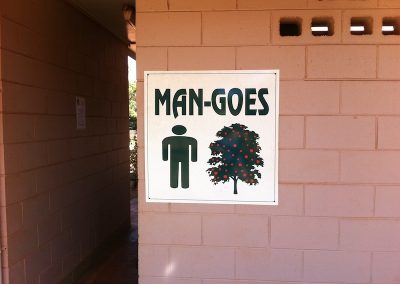 Cape York toilet for MEN