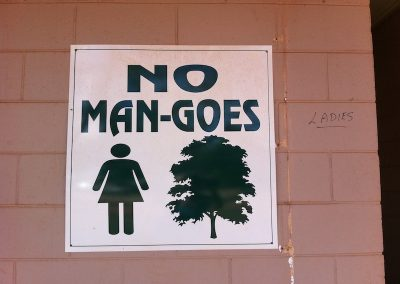 Cape York toilet for WOMEN