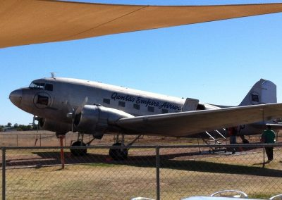 DC3 at Longreach Qantas Founders Museum