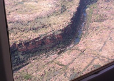 Deep river gorges of the Kimberley