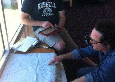 Flight planning on tour