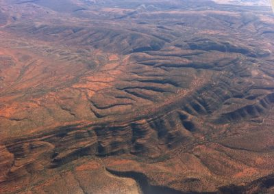 Pillar Range, east of Alice Springs