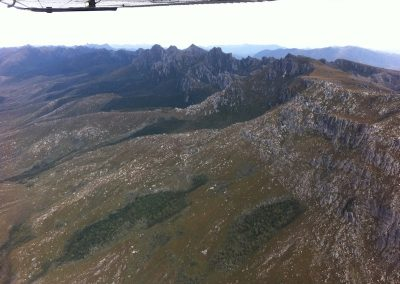 Ranges in south west Tasmania