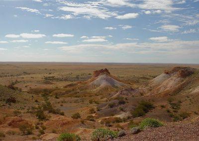 Sand dunes Lake Mungo