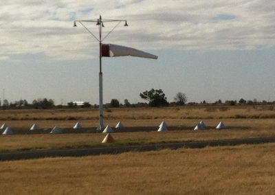 Strong crosswind at Bourke