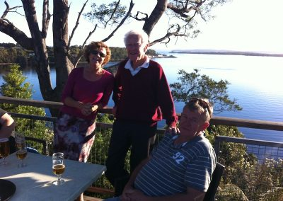 Sunset drinks Strahan