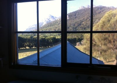 View from the Mountain & Seas Resort, Flinders Island