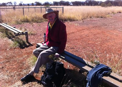 Waiting for fuel at Yuendumu Airport