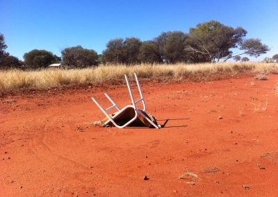 Yuendumu Airport Waiting Room